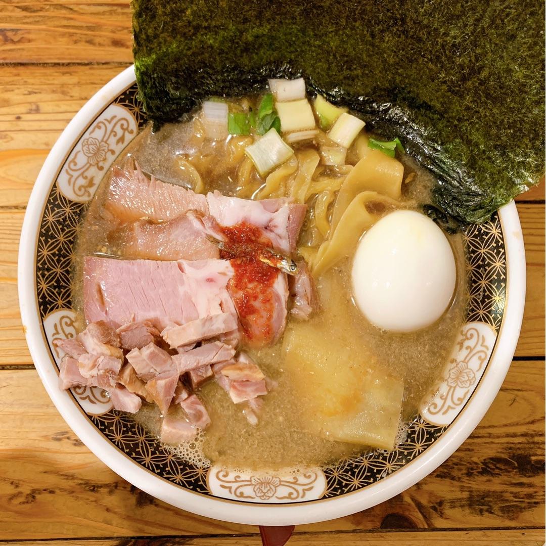 すごい煮干ラーメン凪 新宿ゴールデン街店本館(東京)